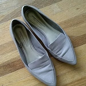 Taupe Loafers